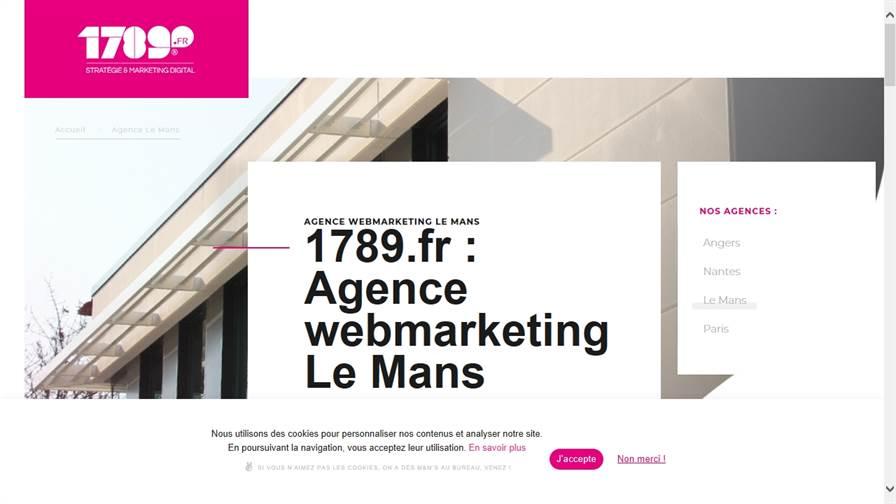 1789.fr - Agence webmarketing Le Mans