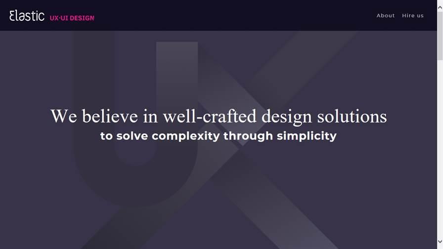 Elastic UX | UI design