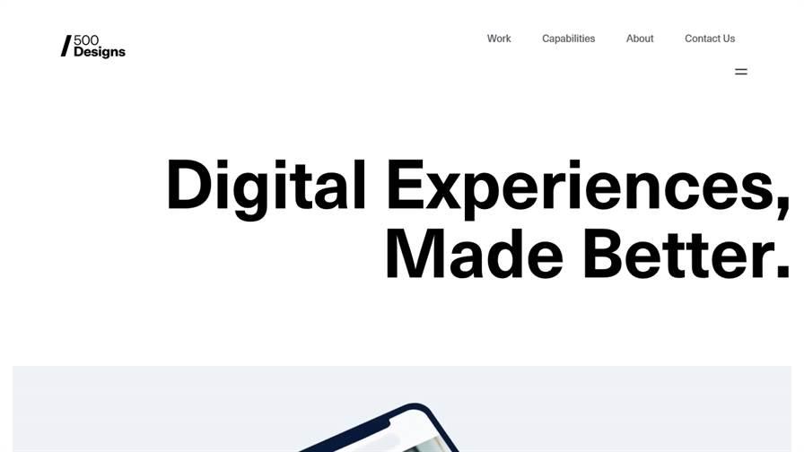 500 Designs - Web Design | UI/UX Design | Branding Company