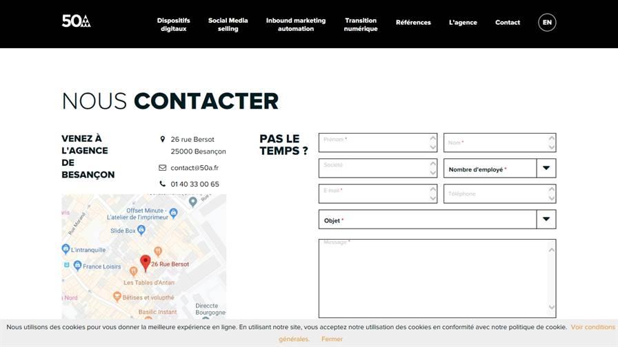 Agence 50A Besançon