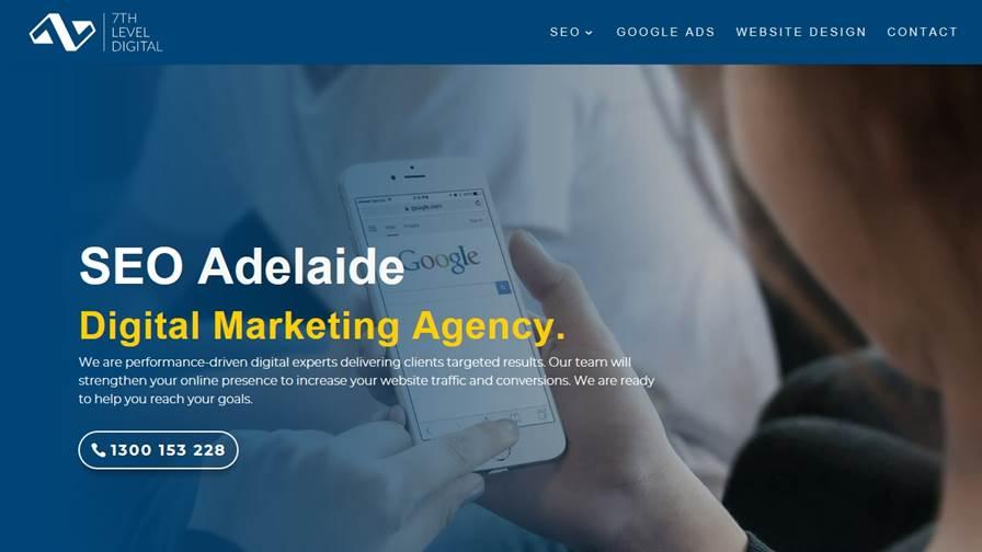 7th Level Digital - Adelaide SEO Web Design Marketing Agency