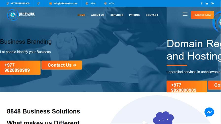 Digital Marketing Company in Nepal | 8848 Business solutions