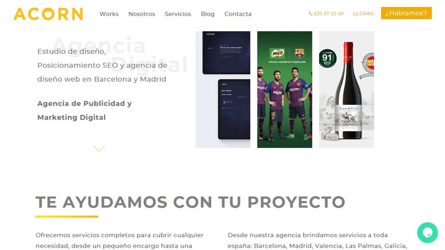 Acorn Digital Agency - Agencia de Publicidad y Marketing, Diseño, Web, SEO, Ilustración