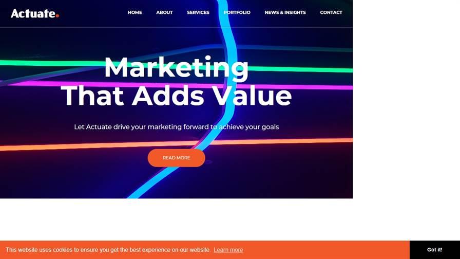 Actuate Marketing