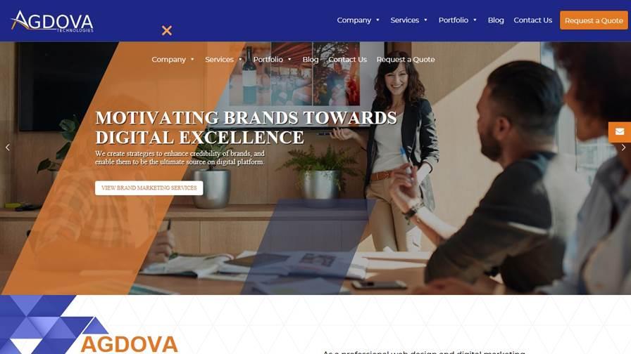 Agdova: Web Design Company & Digital Marketing Agency