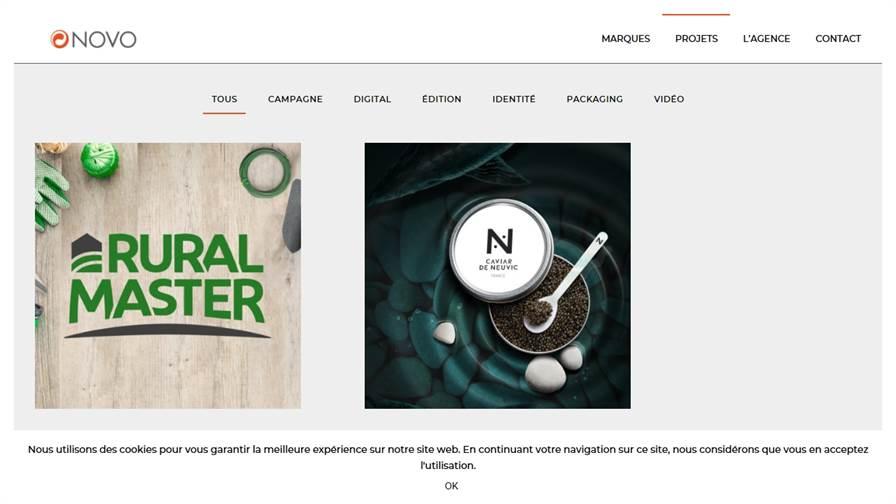 Agence de communication Novo