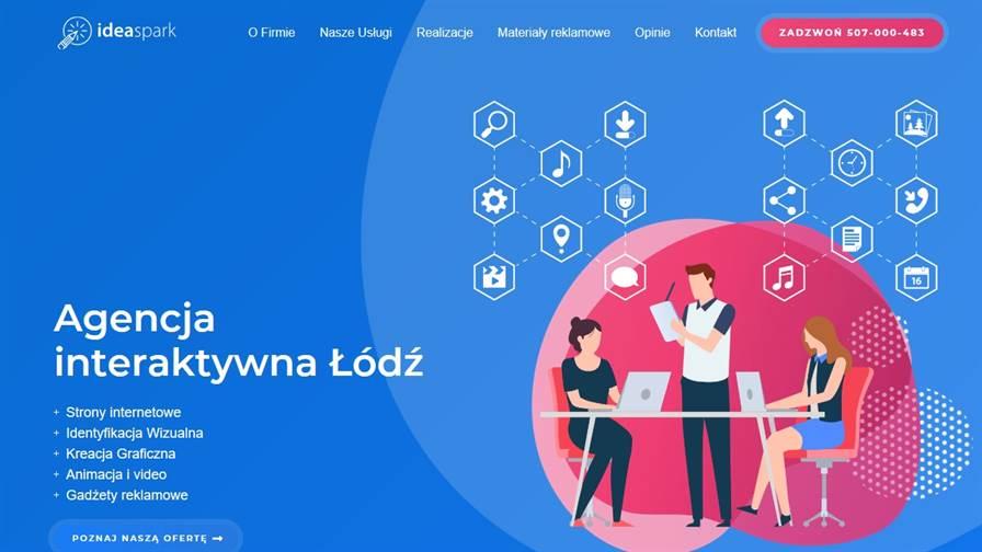 Agencja Interaktywna Łódź - Pozycjonowanie Stron Łódź, Strony Internetowe, Sklepy