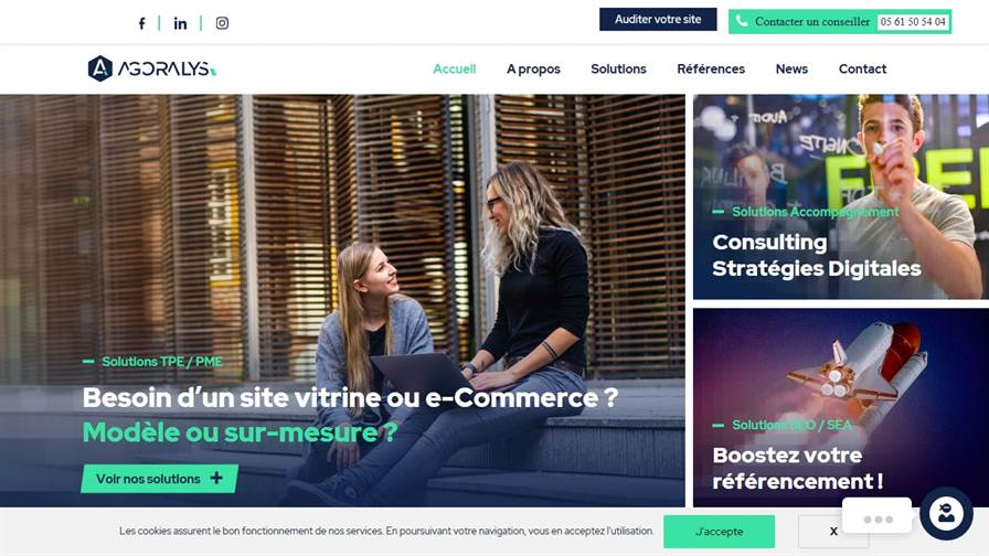 AGORALYS   Agence Web et Marketing Digital