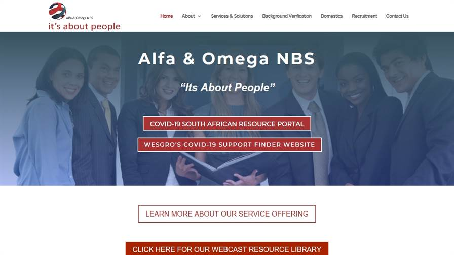 ALFA & OMEGA NETWORKED BUSINESS SOLUTIONS
