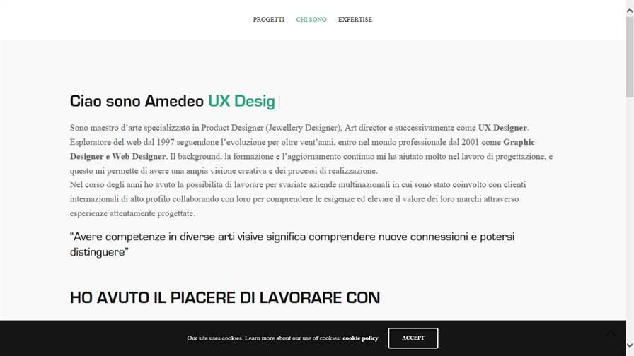 Amedeo Pancella UX/UI Designer