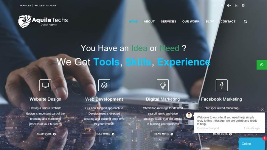 Aquila Techs - Creative Digital Agency In Lahore, Pakistan