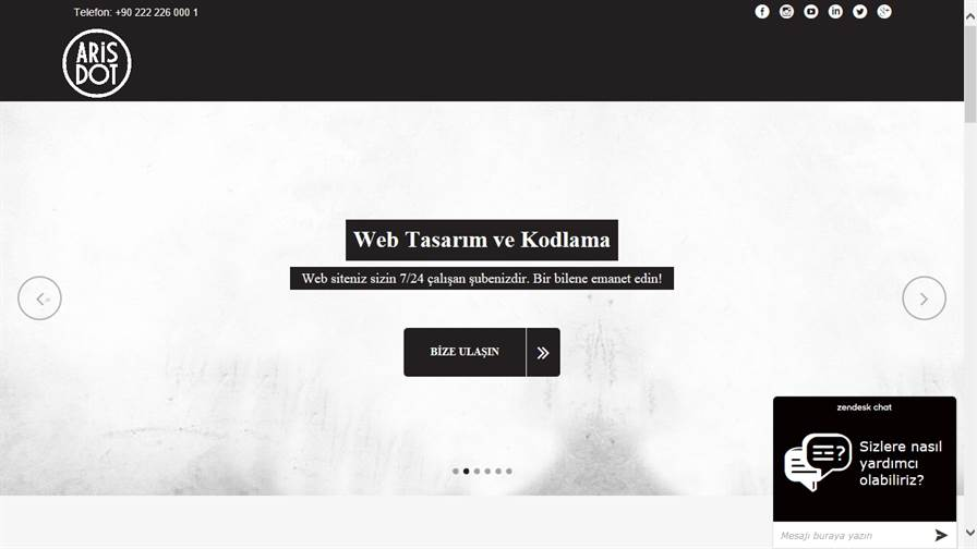 Arisdot Digital - Eskişehir Web Tasarım