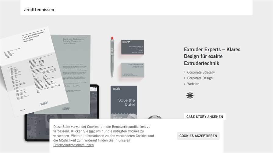 arndtteunissen – Strategische Markenagentur für Corporate Design und User Experience