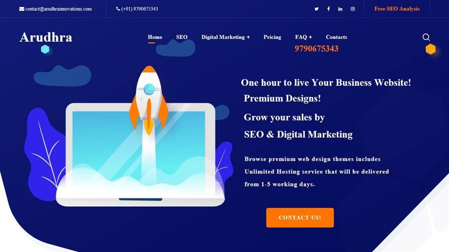Arudhra Innovations (Web Design Company/SEO/Digital Marketing/Ads)