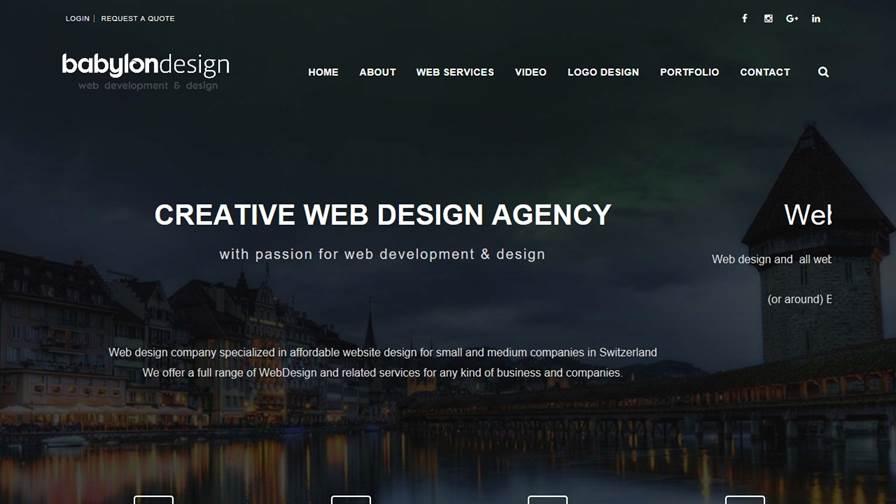 Babylon - Web Design Bern