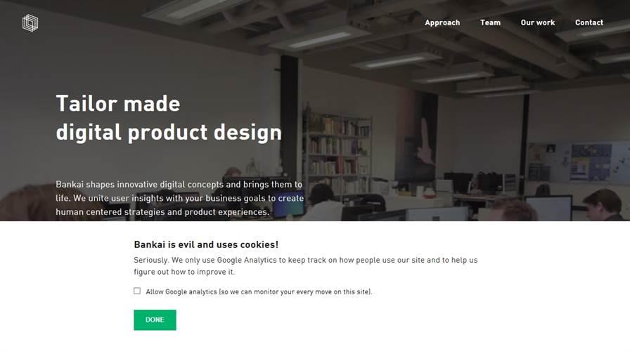 Bankai - User Experience Design