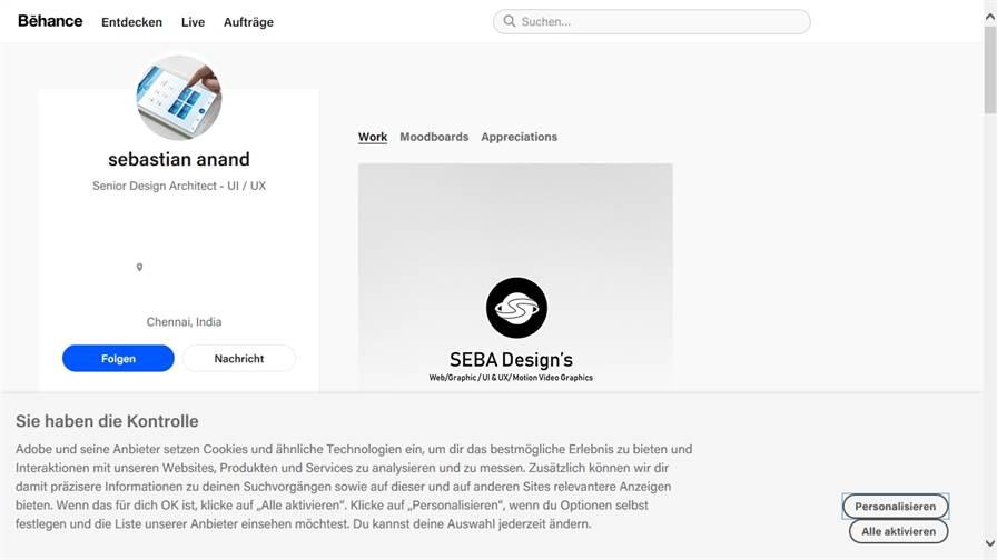 Léo Sestier - UX / UI designer