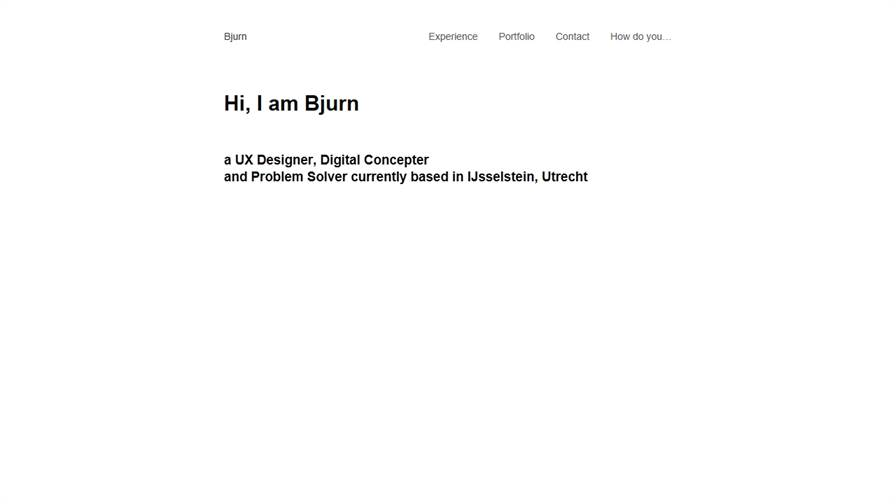 Bjurn   user experience consultant