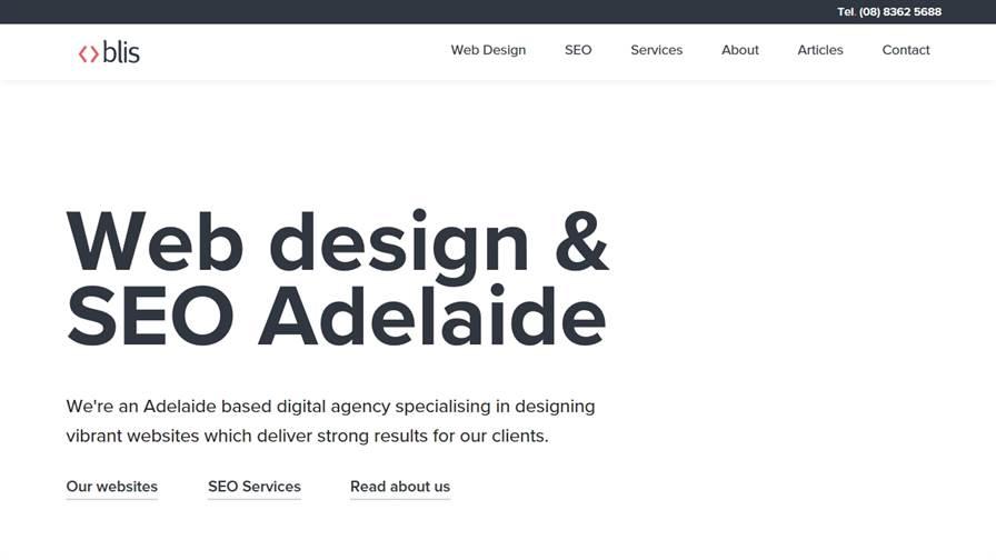 Blis Web Agency - Adelaide Web Design & SEO