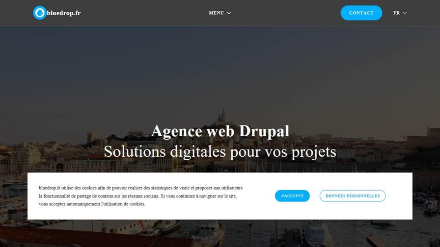 Bluedrop.fr Agence Drupal