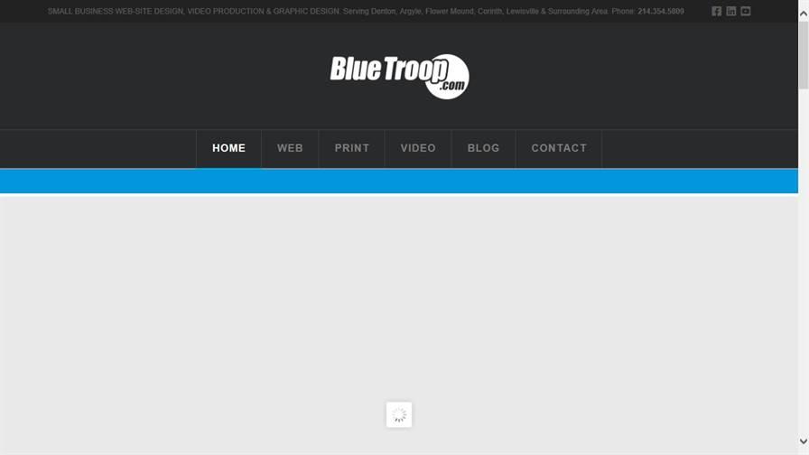 Blue Troop Web Design