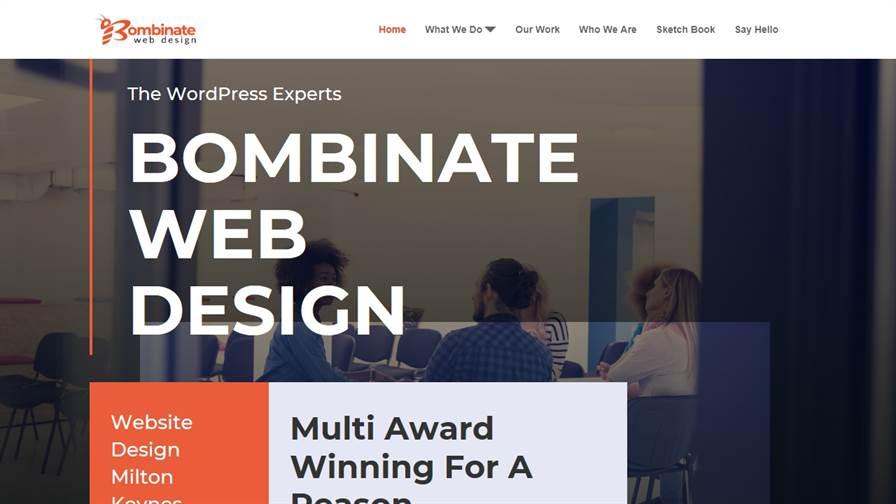 Bombinate Web Design - Milton Keynes