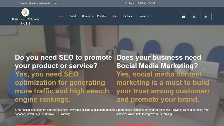 Brains Media Solutions Pvt Ltd