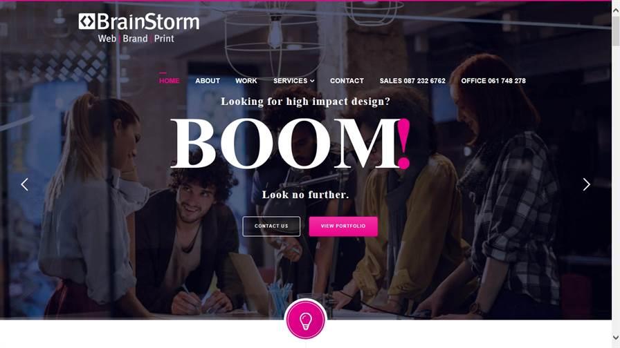 Brainstorm Design | Website & Branding