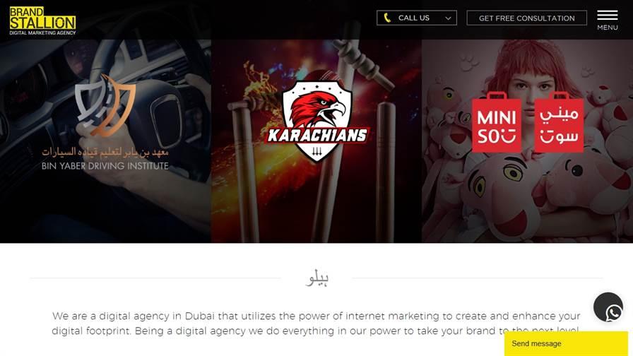 Brand Stallion Dubai Digital Marketing, Social Media, SEO, PPC, Web Design Agency