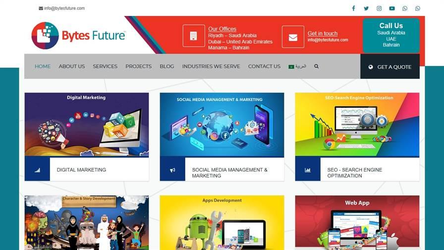 Bytes Future - Digital Marketing & Social Media Advertising Agency in Saudi Arabia