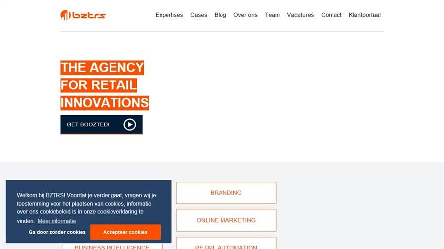 BZTRS (boozters) is een strategisch IT en e-commerce bureau