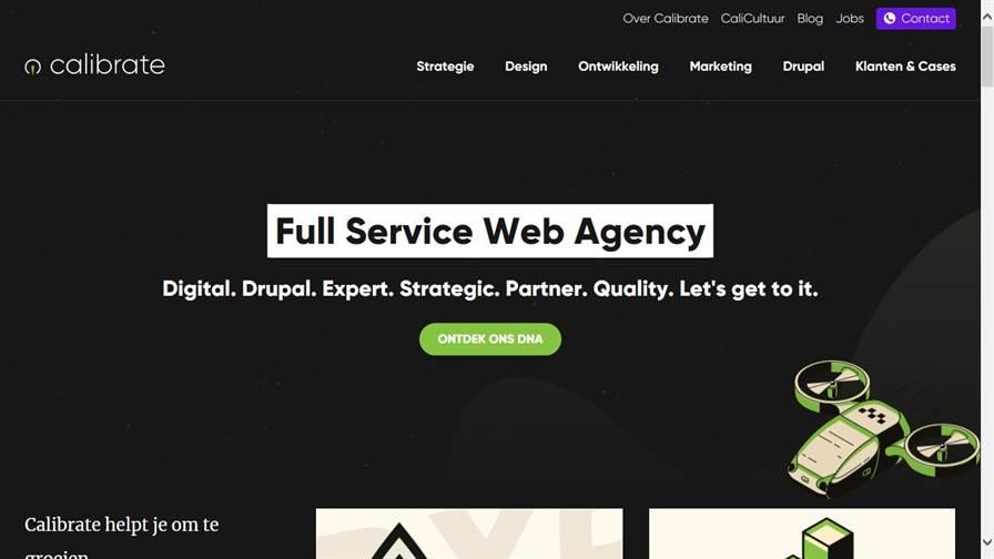 Calibrate | Web agency | Antwerpen, Gent, Leuven