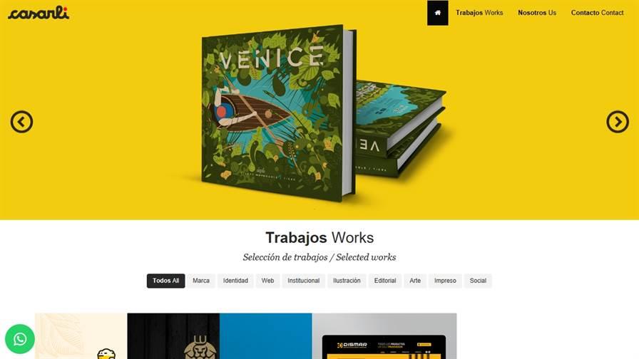 Casarli Estudio de Diseño Gráfico, Web, Editorial