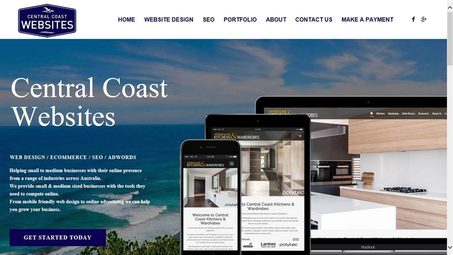 Central Coast Websites - Website Design & SEO