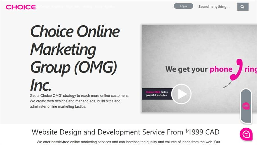 Choice Online Marketing Group (OMG) Inc.