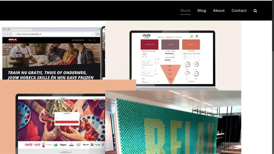 Claran van Zijl - UX/UI design, Experience design