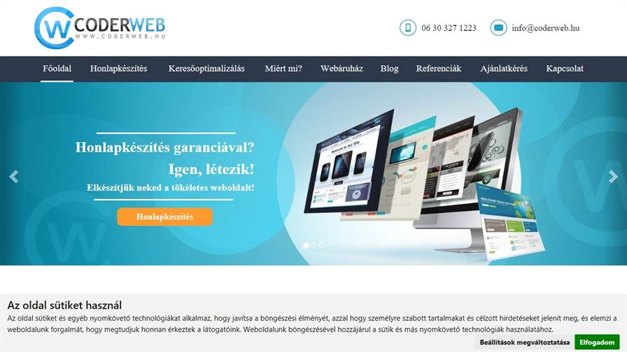CoderWeb.hu - Honlapkészítés, Weboldal készítés