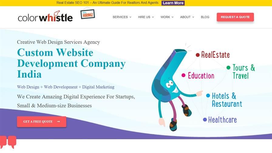 ColorWhistle - Website Design & Digital Marketing Services Company India