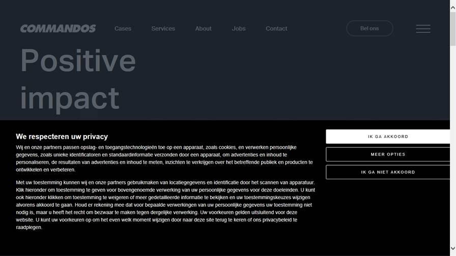 Commandos - Leiden | Strategy | Design | Digital | UX | Internet bureau