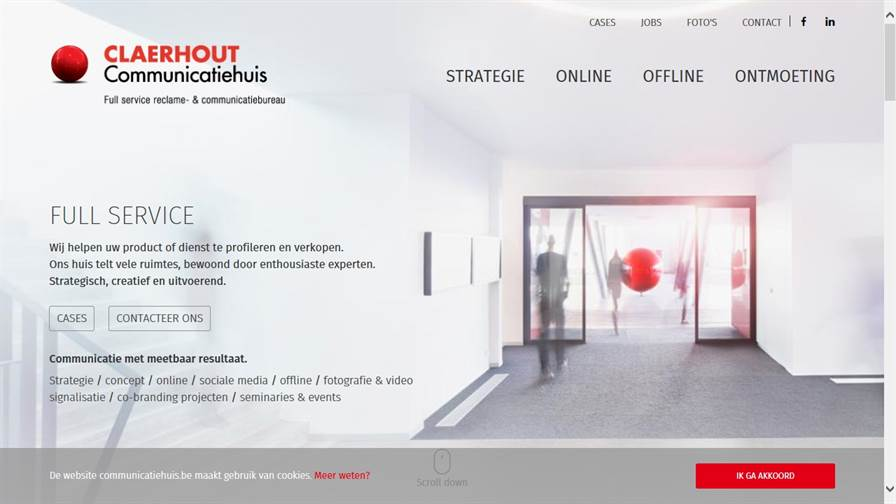 Claerhout nv Communicatiehuis