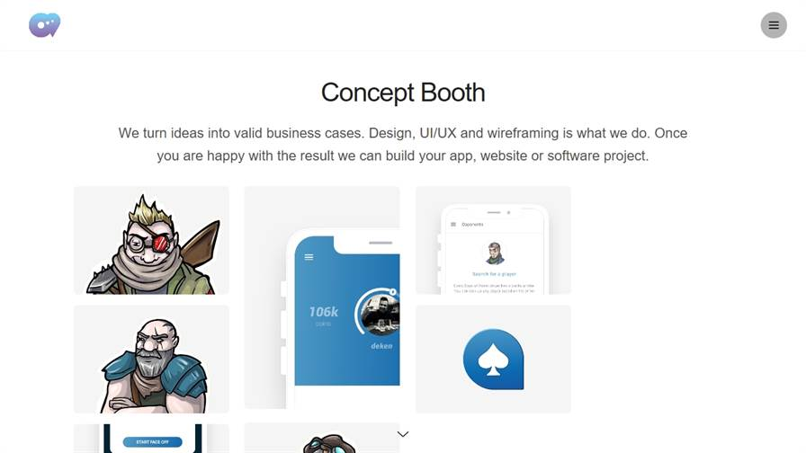 Concept Booth