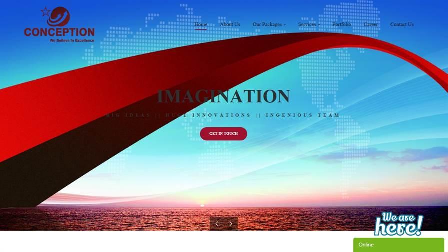 Conception Digital Services : Web Design and Development, App Development company in Noida, U.P