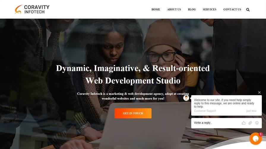 Website Development and Designing Company - Coravity Infotech