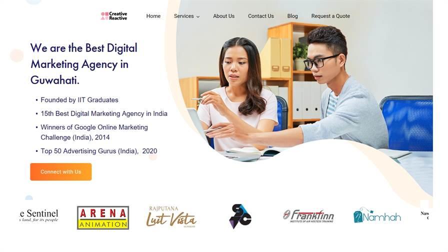 Creative Reactive - Digital Marketing Agency in Guwahati