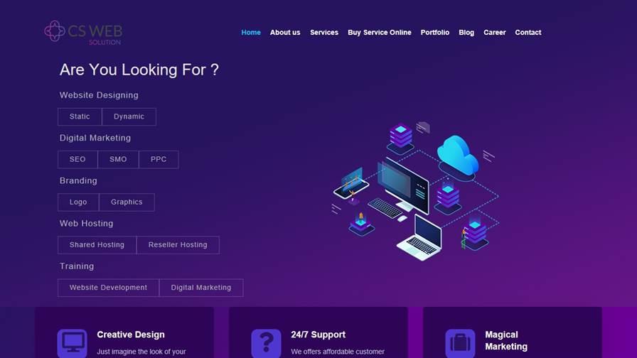 CS Web Solution