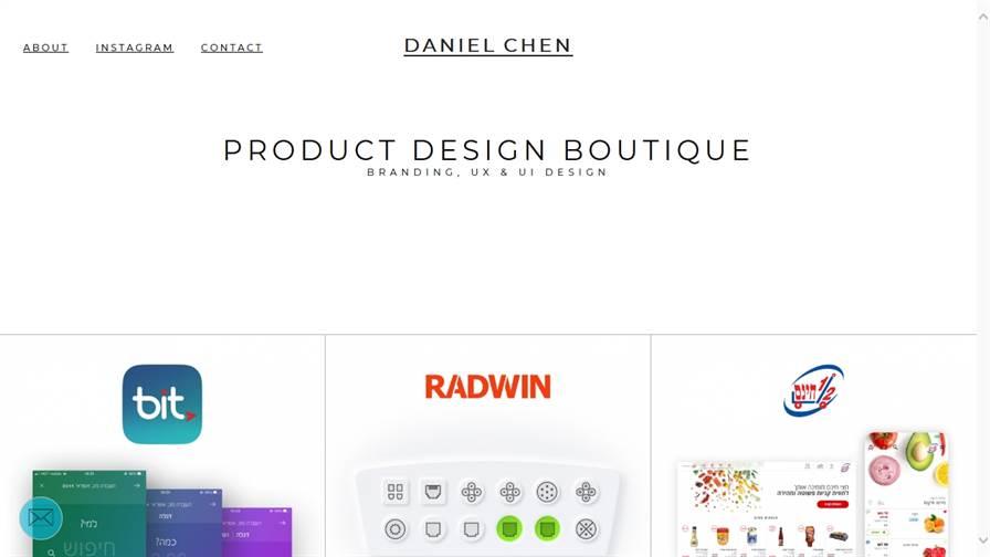 Daniel Chen's UX & UI Boutique