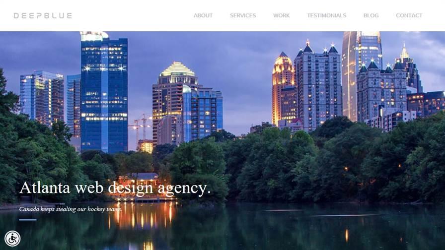 DEEPBLUE - Web Design Agency Atlanta