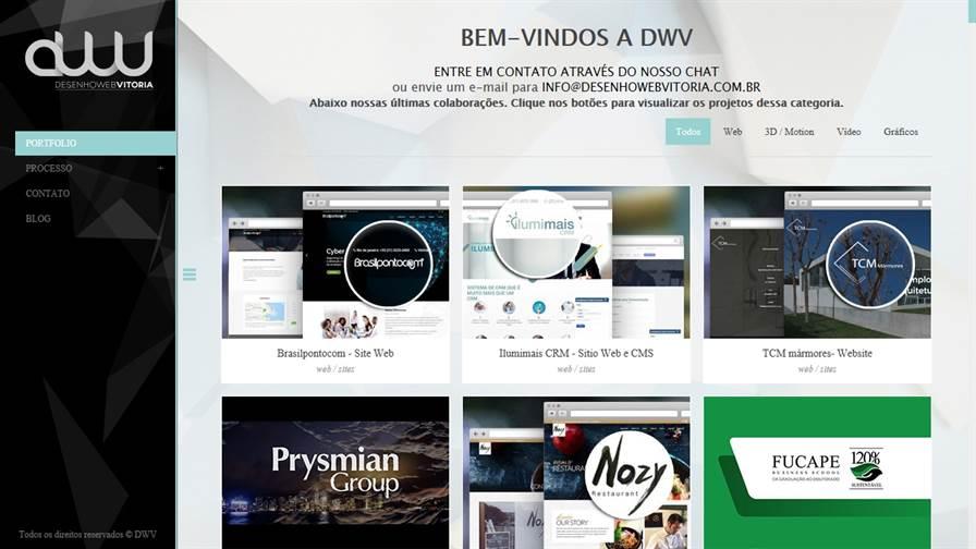 DWV Desenho Web Vitoria - Criação de Sites e Lojas Virtuais