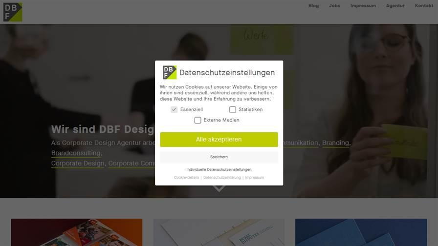 Design Agentur Frankfurt | Corporate Design | Grafikdesign – DBF Designbüro Frankfurt