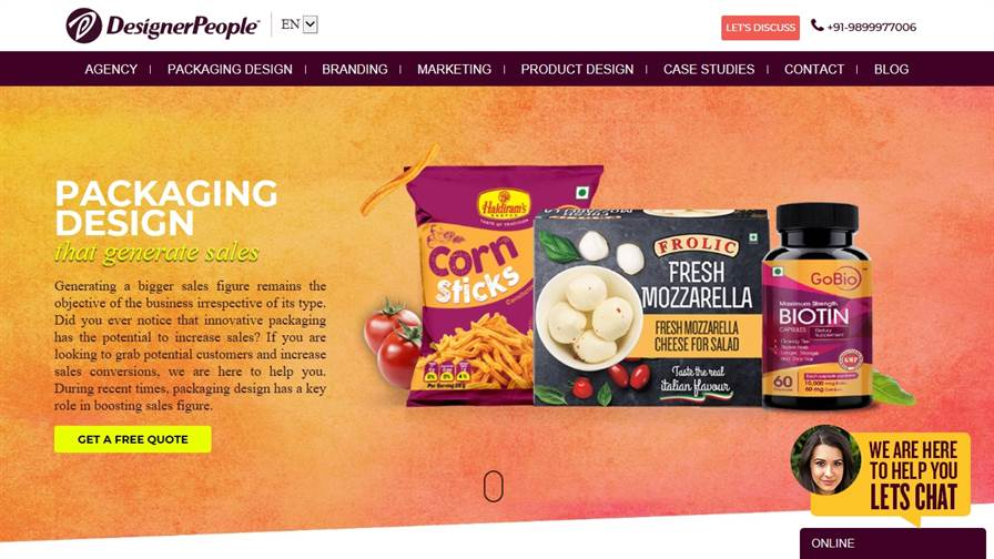 Packaging Design Company India - DesignerPeople